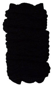 Mixit Mix It Black Cable Knit Leg Warmers One Size Fits All
