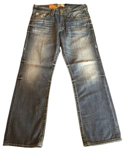 Big Star Eastman Pants Straight Leg Jeans-Medium Wash