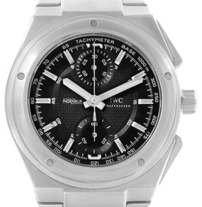 IWC IWC Ingenieur Automatic Chronograph Black Dial Mens Watch IW372501