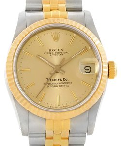 Rolex Rolex Datejust Midsize Steel Yellow Gold Jubilee Bracelet Watch 68273