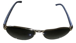 Versace Versace Sunglasses Aviator Gold and White
