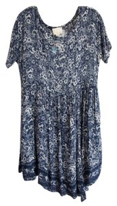 Girl. by Band of Outsiders short dress blue and white on Tradesy