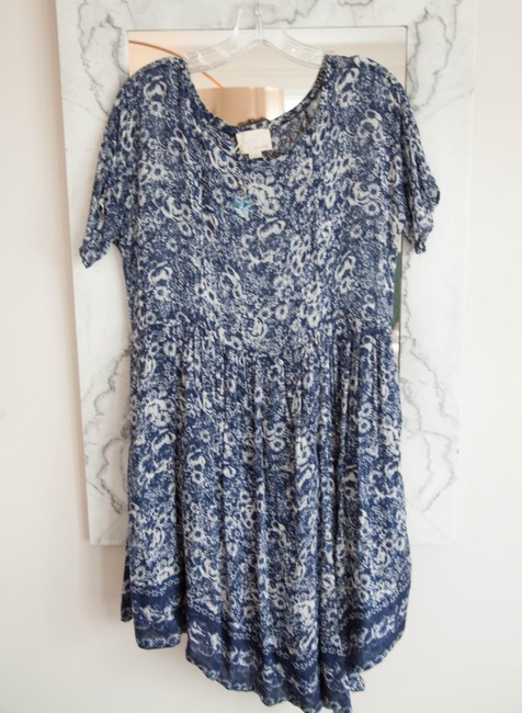 Girl. by Band of Outsiders short dress blue and white on Tradesy Image 1