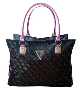 Guess Gym Tote Like New Brown & Pink Travel Bag
