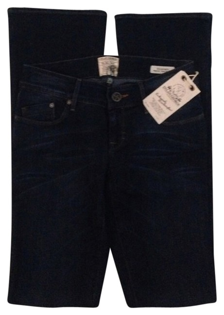 Dylan George Boot Cut Jeans-Dark Rinse