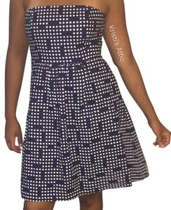 Gap short dress Navy blue and white on Tradesy