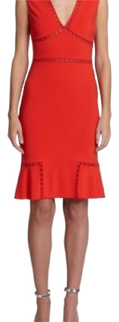 Preload https://img-static.tradesy.com/item/14011099/roberto-cavalli-coral-open-stitched-above-knee-night-out-dress-size-8-m-0-1-650-650.jpg