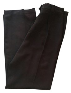 Escada Vintage Business Straight Pants Brown
