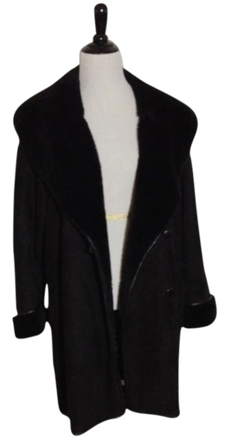 Shearling Coat Suede Chick Fur Coat