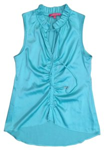 Catherine Malandrino Top Blue