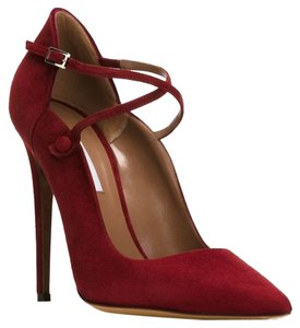 Tabitha Simmons Red Pumps