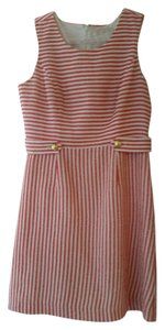 Banana Republic Sleeveless Sheath Striped Dress