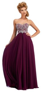 CLARISSE Prom Chiffon Beaded Dress