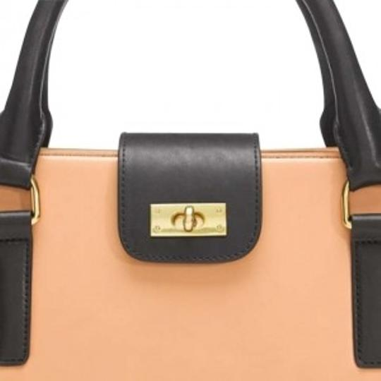 J.Crew Edie Attache Satchel in Camel