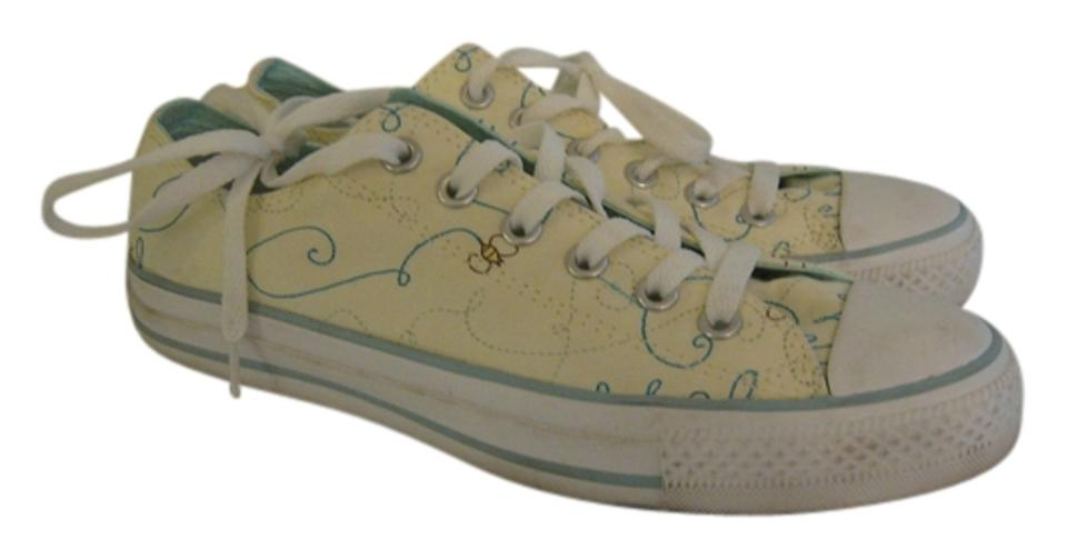 Converse Light Yellow All Stars Bumble Bees Sneakers Flats Size US 9 Regular (M, B) 47% off retail