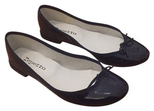 Repetto Navy blue Flats