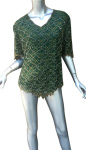 Vintage Beaded Sequin Tunic