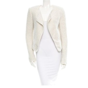 10 Crosby Derek Lam Tweed Jacket Jacket Jacket Ivory/ Cream Blazer