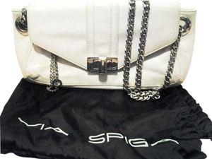Via Spiga White Handbag Shoulder Bag