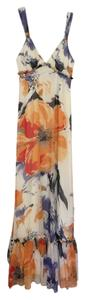 white Maxi Dress by BCBGeneration Floral Maxi