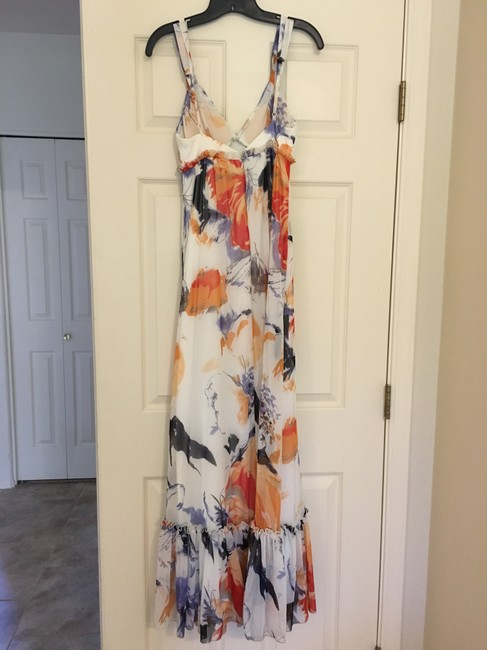white Maxi Dress by BCBGeneration Floral Maxi Image 1