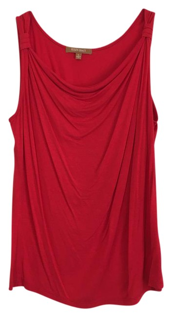 Ellen Tracy Top Red