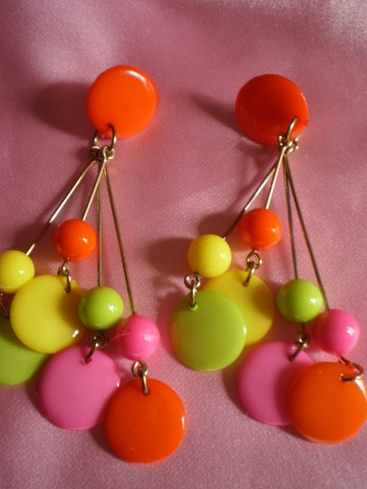 Unknown New Multi-Color pierced earrings