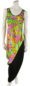 Printed Maxi Dress by Yohji Yamamoto Maxi Psychedelic Spring Summer