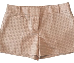 Ann Taylor LOFT Dress Shorts Blush with dots