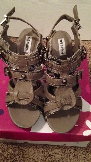 Not Rated Grey Camo Sandals