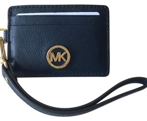 Michael Kors Wristlet Navy Clutch