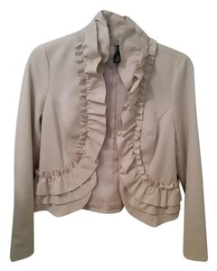 INC International Concepts I.N.C. Ruffle Blazer