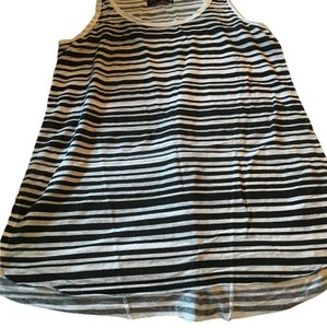 Rag & Bone Top Black and white stripe