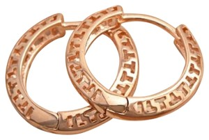 Other New 14K Rose Gold Filled Small Hoop Earrings 1/2 in. J2294