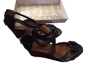 Ann Taylor LOFT Black Wedges
