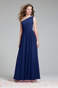 Alfred Angelo Navy 7243 Dress