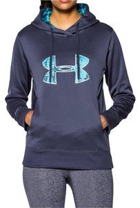 Under Armour New With Tags Cold-weather Storm Waterproof Hoodie With Big Logo --size Xl Sweater