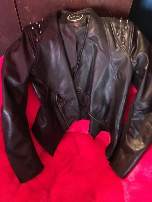 Wilsons Leather Motorcycle Jacket Image 1