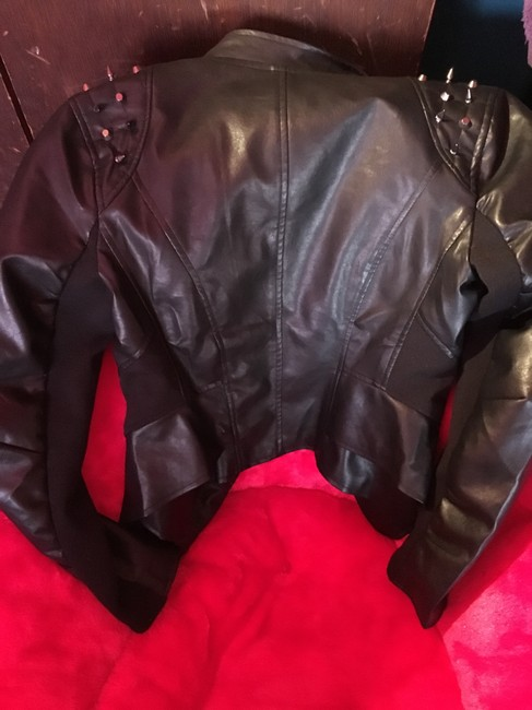Wilsons Leather Motorcycle Jacket Image 2