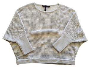 BCBGMAXAZRIA Dolman Sleeve Cropped Knit Sweater