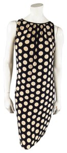 Akris White Polkadot Spring Dress