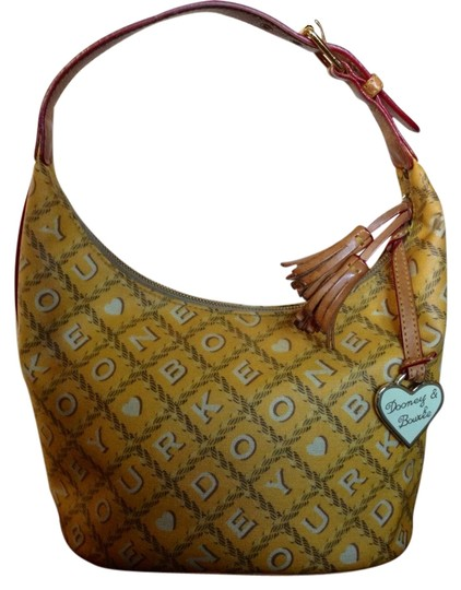 Dooney & Bourke Tassels Patchwork Shoulder Bag