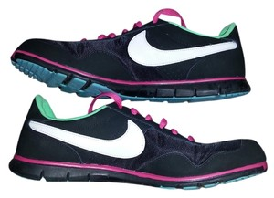 Nike Sneakers Lace Black Athletic