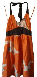 Moulinette Soeurs short dress Orange on Tradesy