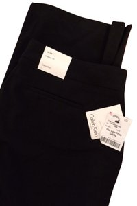 Calvin Klein Brand New Never Worn Classic Fit Straight Pants Black