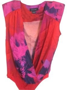 Marciano Top Floral (red, pink, purple)