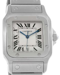 Cartier Cartier Santos Galbee Mens Quartz Steel Date Watch W20060D6