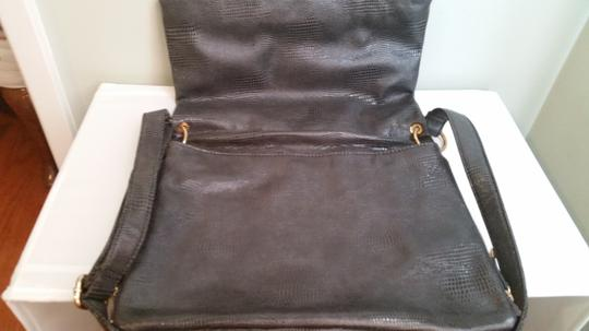 BCBGeneration Charcoal Messenger Bag