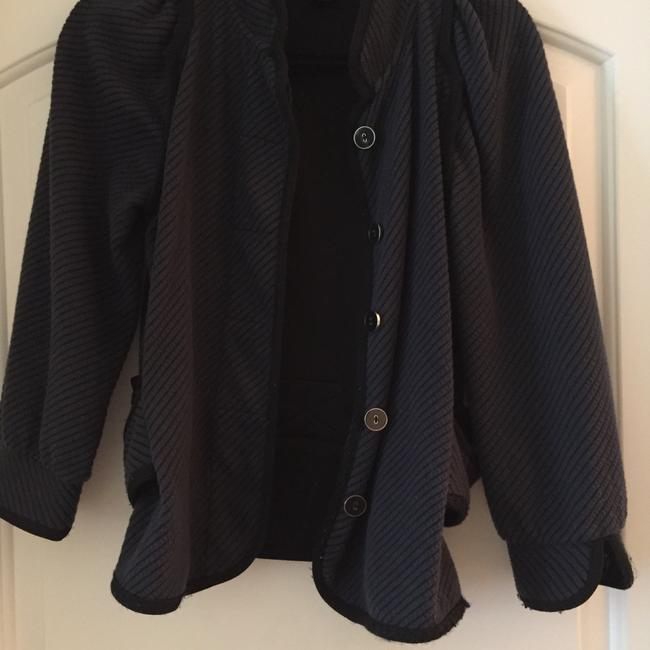 Marc Jacobs Navy Button Down Jacket Jacket Image 4