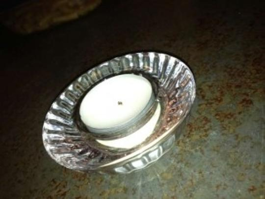 Clear Glass Votive/Candle